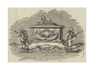Silver Inkstand, Presented to Lieutenant-Colonel Spence--Giclee Print