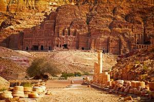Petra, Jordan by silver-john