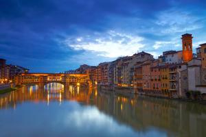View of Bridge Ponte Vecchio. Florence, Italy by silver-john