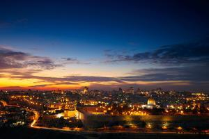 View to Jerusalem Old City. Israel by silver-john
