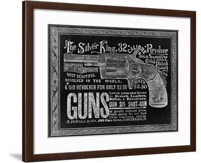 Silver King--Framed Giclee Print