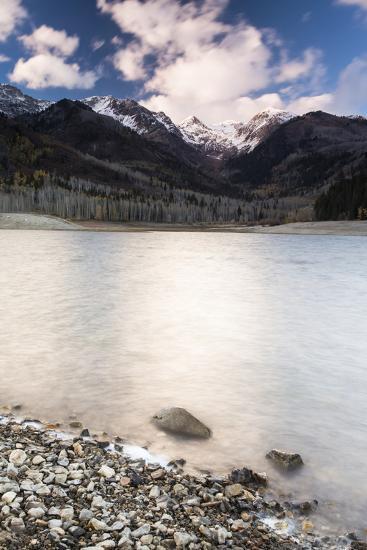 Silver Lake Flat At Sunset-Lindsay Daniels-Photographic Print