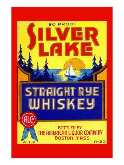 Silver Lake Straight Rye Whiskey--Art Print