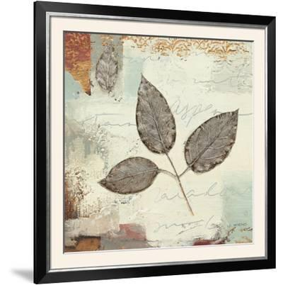 Silver Leaves II-James Wiens-Framed Photographic Print