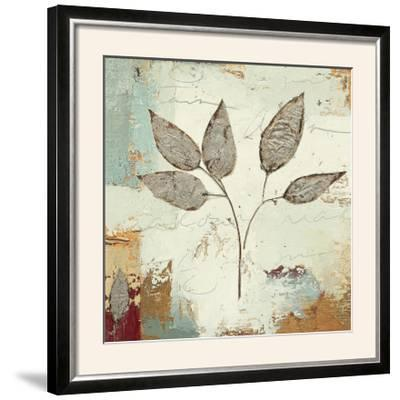 Silver Leaves III-James Wiens-Framed Photographic Print