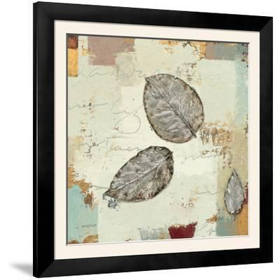 Silver Leaves IV-James Wiens-Framed Photographic Print