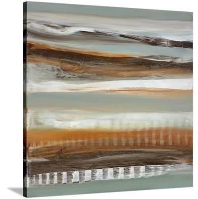 Silver Light I-Cat Tesla-Stretched Canvas Print
