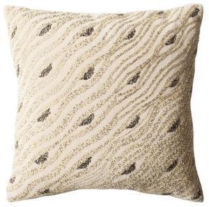 Silver Mint Sparkles Pillow