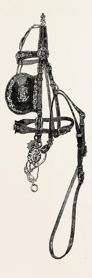 Silver Mounted Carriage Harness--Giclee Print