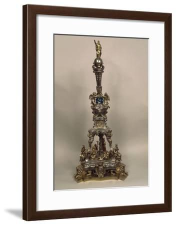 Silver Neobaroque Style Piece with Tales of Moses--Framed Giclee Print