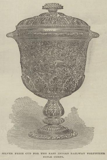 Silver Prize Cup for the East Indian Railway Volunteer Rifle Corps--Giclee Print