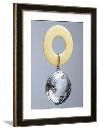 Silver Rattle. Beginning of 20th Century--Framed Giclee Print