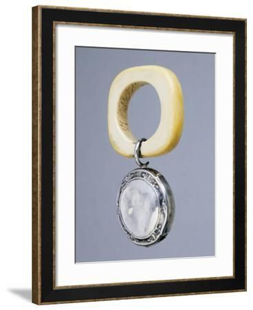 Silver Rattle. France, Beginning of 20th Century--Framed Giclee Print