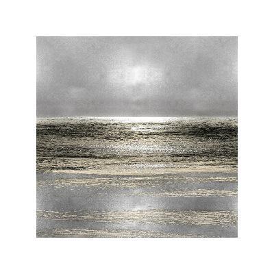 Silver Seascape I-Michelle Matthews-Giclee Print