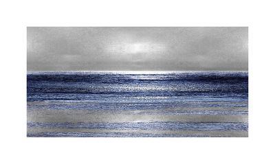 Silver Seascape II-Michelle Matthews-Giclee Print