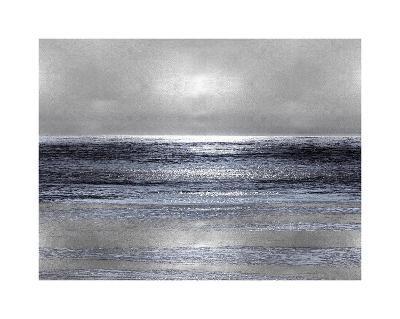 Silver Seascape III-Michelle Matthews-Giclee Print
