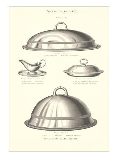 Silver Serving Accessories--Art Print