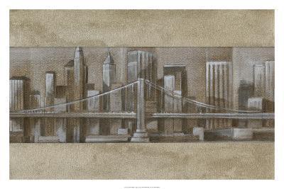 Silver Skyline I-Ethan Harper-Premium Giclee Print