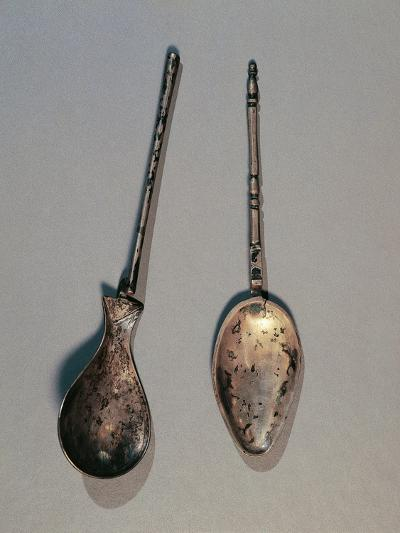 Silver Spoons, from Angerville, Gaul, France--Giclee Print