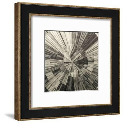 Silver Swirl-Mali Nave-Framed Giclee Print