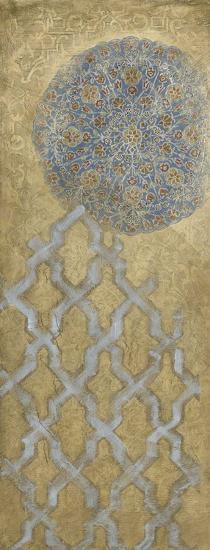 Silver Tapestry I--Art Print