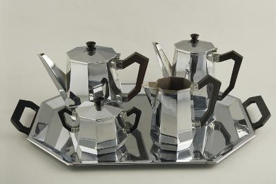 Silver Tea and Coffee-Service--Giclee Print