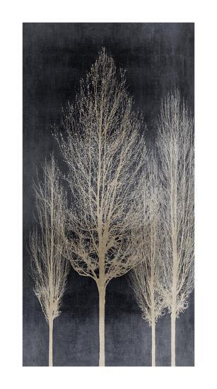 Silver Tree Silhoutte II-Kate Bennett-Giclee Print