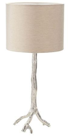 Silvered Branch Table Lamp