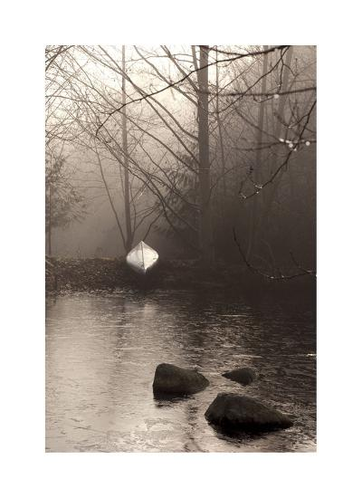 Silvered Morning Pond-Heather Ross-Giclee Print