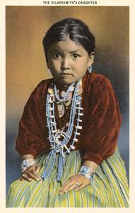 Silversmith's Daughter, Navajo Girl