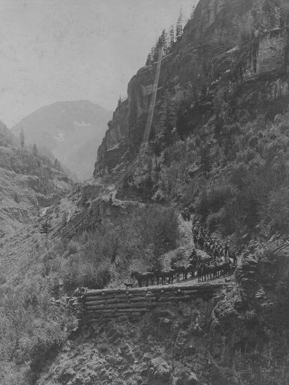 Silverton, Colorado Mining Photograph 1890s-1900s--Art Print
