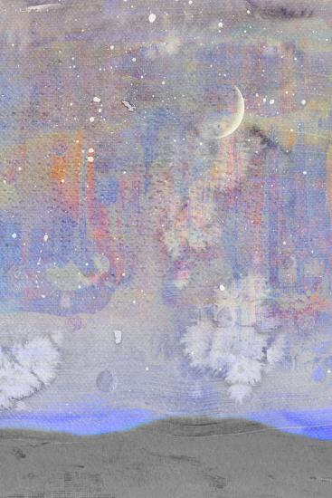 Silvery Moon II-Alicia Ludwig-Art Print