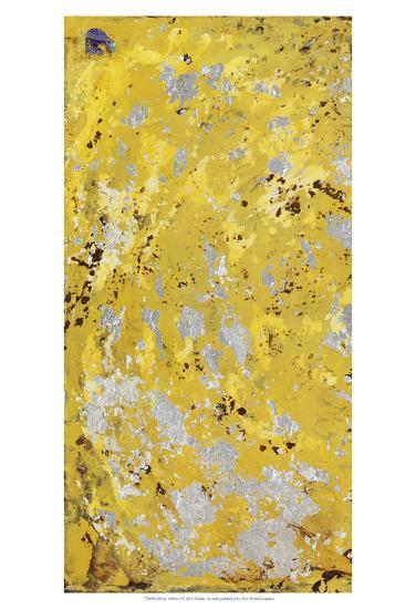 Silvery Yellow I-Natalie Avondet-Art Print