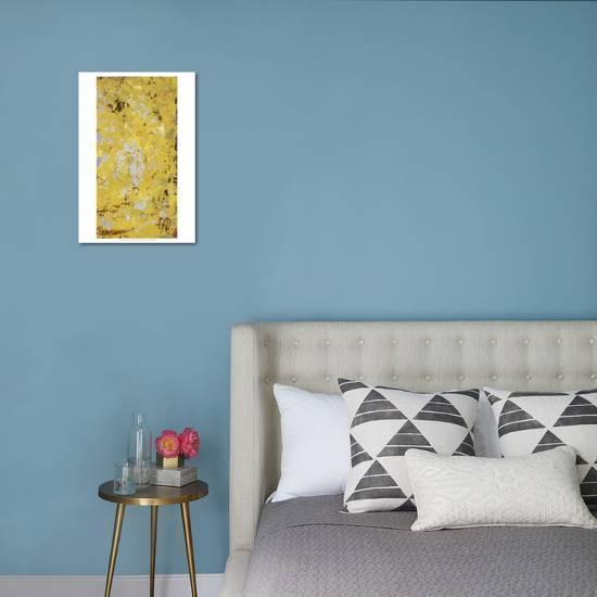 Silvery Yellow Ii Art Print Natalie Avondet Art Com