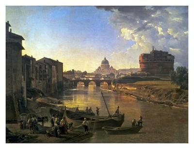 New Rome, Castel Sant'Angelo, 1823