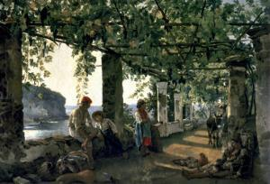 Terrace of the Seashore, 1828 by Silvester Shchedrin