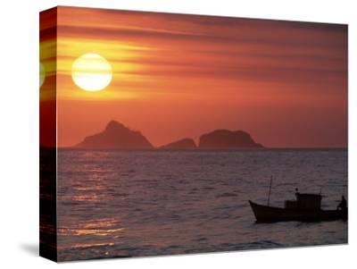 Arpoador Beach, Cagaras Island, Rio de Janeiro, Brazil