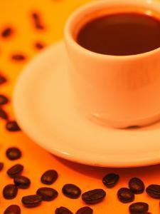 Brazilian Coffee with Coffee Beans by Silvestre Machado