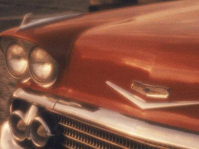 Close-up of a Chevrolet Car
