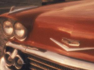 Close-up of a Chevrolet Car by Silvestre Machado
