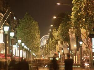 France, Paris, Champs, Elysees by Silvestre Machado