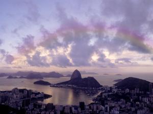 Sugarloaf, Guanabara Bay, Rio de Janeiro, Brazil by Silvestre Machado