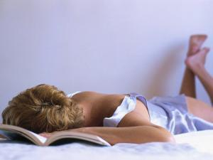 Woman Sleeping by Silvestre Machado
