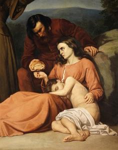 Famine by Silvestro Lega