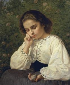 First Pain, 1863 by Silvestro Lega