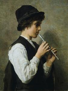 Piper, 1878 by Silvestro Lega
