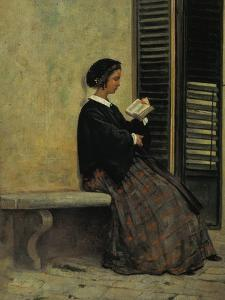 Reading, 1866-67 by Silvestro Lega