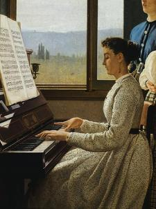The Song of Starling by Silvestro Lega