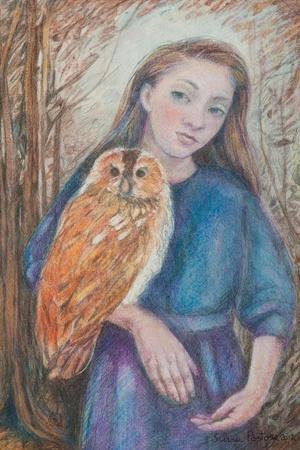 Girl with Owl, 2012
