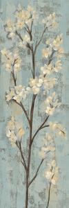 Almond Branch I on Light Blue by Silvia Vassileva
